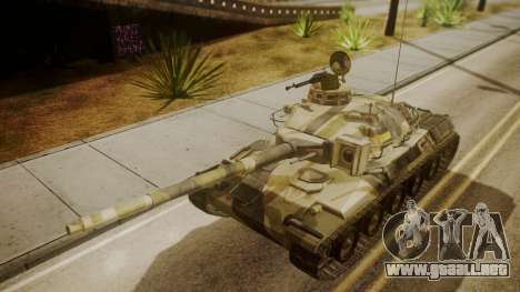 AMX 30 from Mercenaries 2 World in Flames para la visión correcta GTA San Andreas