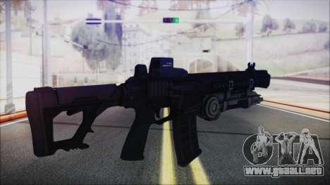 SOWSAR-17 Type G Assault Rifle with Grenade para GTA San Andreas segunda pantalla