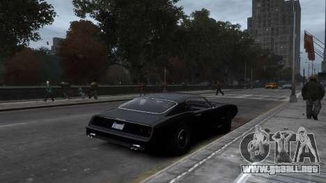Classic Muscle Phoenix IV para GTA 4 vista interior