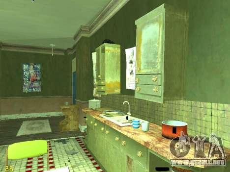 Apartamento de GTA IV para GTA San Andreas undécima de pantalla