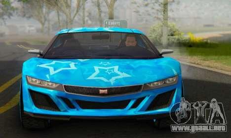 Dinka Jester (GTA V) Blue Star Edition para GTA San Andreas