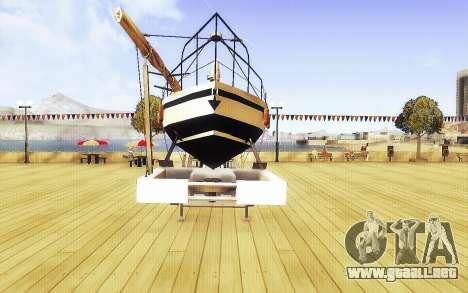 GTA V Gran Remolque del Barco para la visión correcta GTA San Andreas