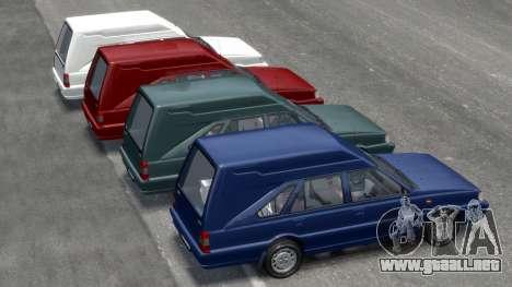Daewoo-FSO Polonez Cargo Van Plus 1999 para GTA 4 ruedas