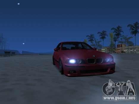 ENB Series [MEDIUM PC] para GTA San Andreas sucesivamente de pantalla