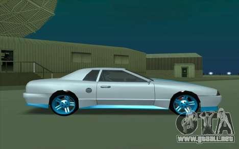 Elegy DRIFT KING GT-1 para GTA San Andreas vista posterior izquierda