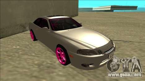 Lexus SC 300 Drift para GTA San Andreas left