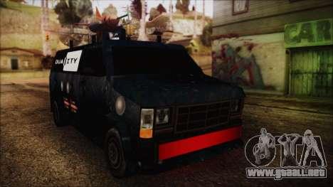 Duality Van - Furgoneta Duality para GTA San Andreas