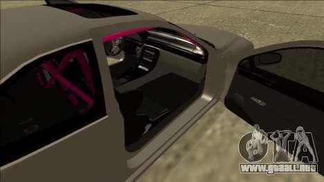 Lexus SC 300 Drift para GTA San Andreas vista hacia atrás