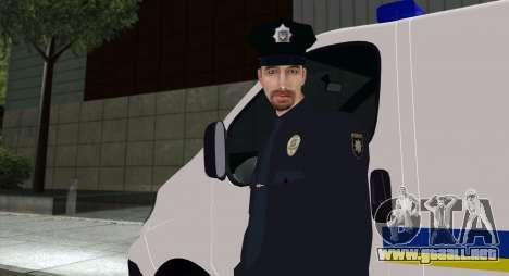 La Policía Nacional De Ucrania para GTA San Andreas
