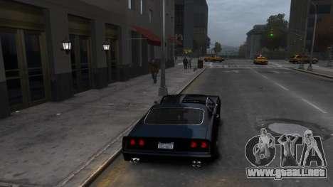 Classic Muscle Phoenix IV para GTA 4 visión correcta