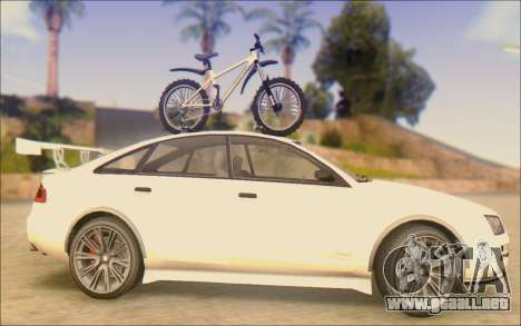 Obey Tailgater Special Tuning para GTA San Andreas left