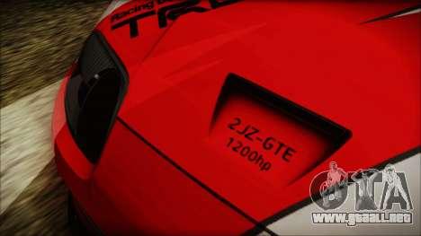 Toyota Supra JZA80 Kantai Collection Haruna PJ para visión interna GTA San Andreas