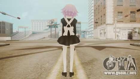 Neptune Maid [Hyperdimension Neptunia] para GTA San Andreas tercera pantalla