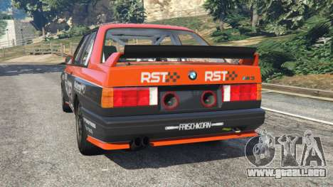 BMW M3 (E30) 1991 [RST] v1.2 para GTA 5