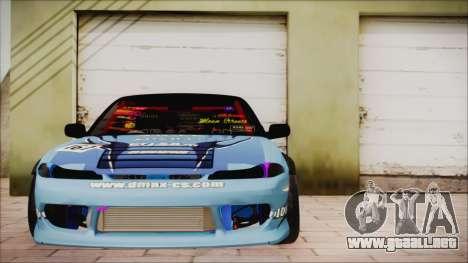 Nissan Silvia S15 DMAX para GTA San Andreas vista hacia atrás