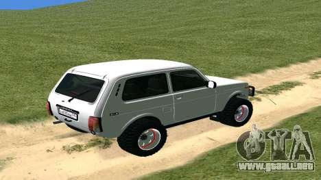 Lada Urban OFF ROAD para la visión correcta GTA San Andreas