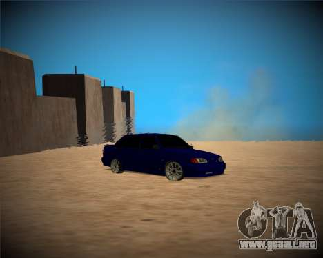 VAZ-2115 para visión interna GTA San Andreas