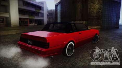 GTA 5 Willard Faction Custom without Extra IVF para GTA San Andreas left