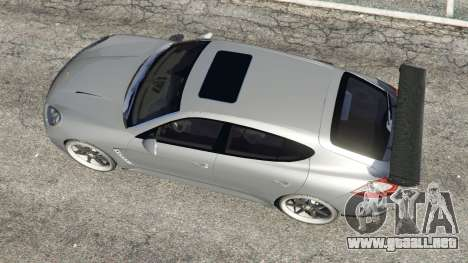 GTA 5 Porsche Panamera Turbo 2010 vista trasera