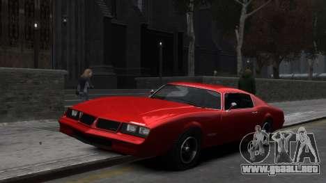 Classic Muscle Phoenix IV para GTA 4