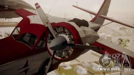 Grumman G-21 Goose N121GL para la visión correcta GTA San Andreas