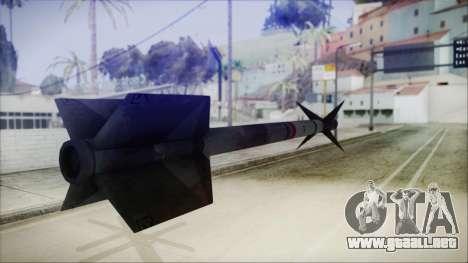 AIM9 Missile para GTA San Andreas tercera pantalla