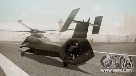 AH-99 Blackfoot para GTA San Andreas left