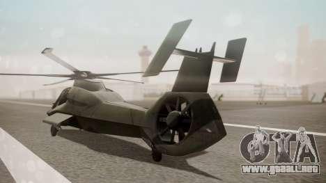 AH-99 Blackfoot para GTA San Andreas left