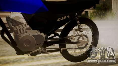 Honda CB1 para la visión correcta GTA San Andreas