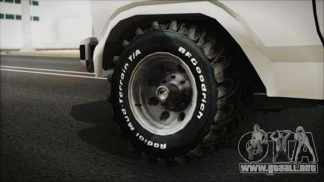 Ford F-150 Con Sonido para GTA San Andreas vista posterior izquierda