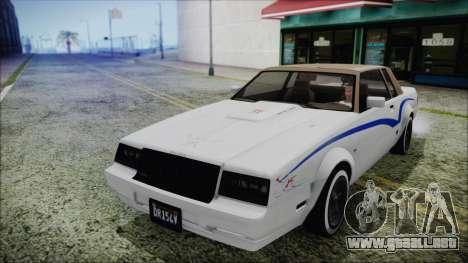 GTA 5 Willard Faction Custom without Extra IVF para vista lateral GTA San Andreas