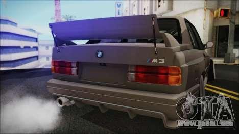 BMW M3 E30 Camber para la visión correcta GTA San Andreas