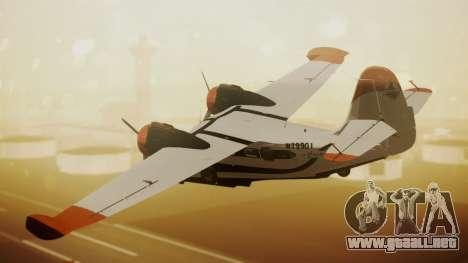 Grumman G-21 Goose N79901 para GTA San Andreas left