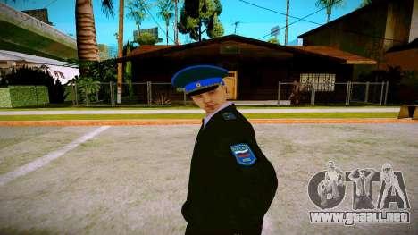El empleado del Ministerio de Justicia v1 para GTA San Andreas segunda pantalla