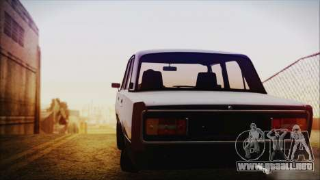 Bully VAZ 2106 Azeri Estilo para GTA San Andreas vista posterior izquierda