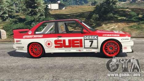 BMW M3 (E30) 1991 [Suei] v1.2 para GTA 5