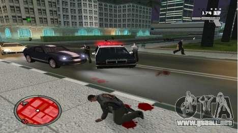 Realista De La Muerte para GTA San Andreas segunda pantalla