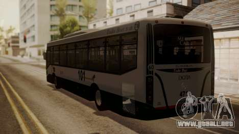 Todo Bus Agrale MT17.0LE AA para GTA San Andreas left
