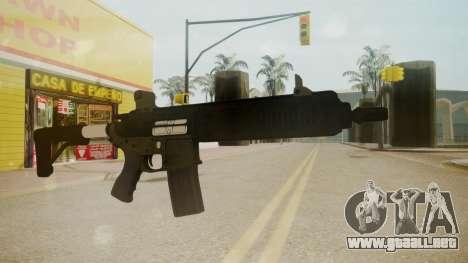 GTA 5 M4 para GTA San Andreas