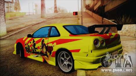 Nissan Skyline Street Racing Syndicate para GTA San Andreas left