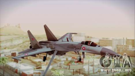 Sukhoi SU-27 Royal Danish Air Force para GTA San Andreas
