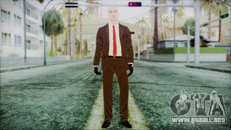Hitman Absolution Agent 47 para GTA San Andreas segunda pantalla
