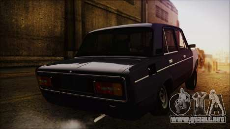 Bully VAZ 2106 Azeri Estilo para GTA San Andreas left