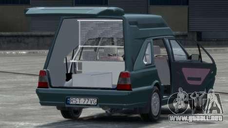Daewoo-FSO Polonez Cargo Van Plus 1999 para GTA 4 visión correcta