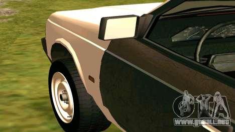 AZLK 2141 Hobo para GTA San Andreas vista hacia atrás