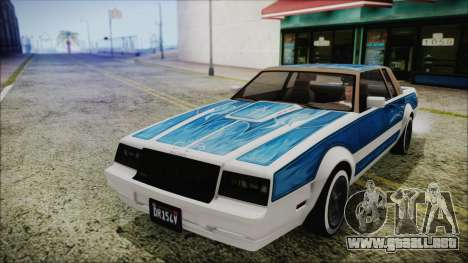 GTA 5 Willard Faction Custom without Extra IVF para la visión correcta GTA San Andreas