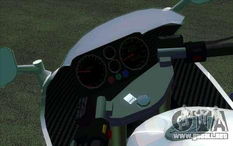 BMW R1200S de Motobot (DPS) para GTA San Andreas left