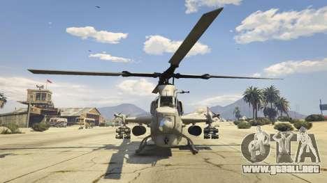 GTA 5 AH-1Z Viper tercera captura de pantalla