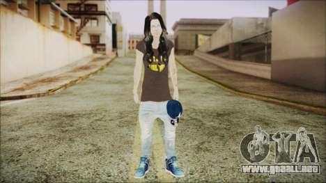 Home Girl SWAG para GTA San Andreas segunda pantalla