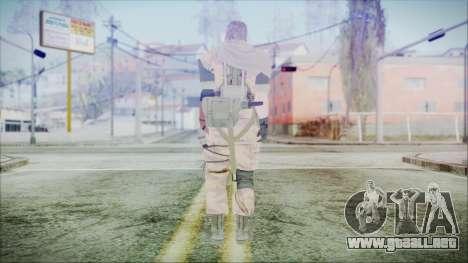 MGSV Phantom Pain Snake Scarf Golden Tiger para GTA San Andreas tercera pantalla